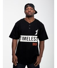 DGK x JT & CO Timeless Custom Henley Black