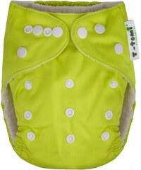 T-tomi Bambusová kalhotková plena AlO, zelená