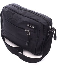 Pánská taška přes rameno Diviley Aidan - černá