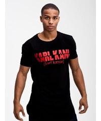 Karl Kani Cutted Name Black Red