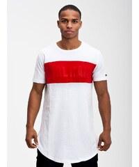 Karl Kani Stripes Logo White Red