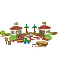 Wader Kid Cars 3D - Koňský ranč s doplňky