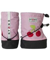 Stonz Růžové nepromokavé capáčky/návleky/sněhule s třešní