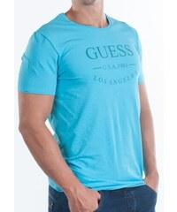 Pánské tričko Guess U54M10 Tyrkysová