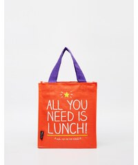 Happy Jackson - All You Need Is Lunch - Tasche - Rot