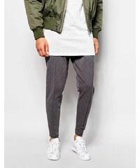 Selected Homme - Luxuriöse Jersey-Hose in schmaler Passform - Grau