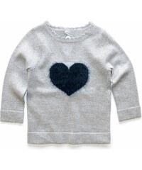 Gelati Dívčí svetr se srdíčkem