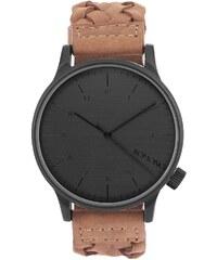 Komono Winston Woven Chestnut Armbanduhr KOM-W2031