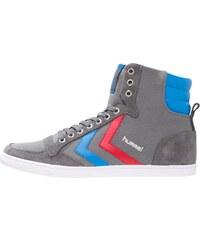 Hummel SLIMMER STADIL Sneaker high castle rock/ribbon red/brilliant blue