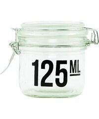 House Doctor Skleněná dózička s víčkem 125 ml