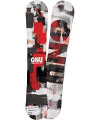 SNOWBOARD GNU CRBN CRDT 162 BTX red - červená (RED162) - 162