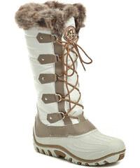 Jacalu 8503.1 bílé dámské zimní boty - POŠTOVNÉ ZDARMA - POŠTOVNÉ ZDARMA