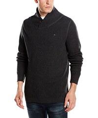 Hilfiger Denim Herren Pullover Gibson shawl sweater l/s