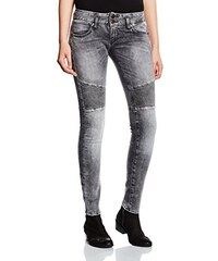 Herrlicher Damen Jeanshose Moira Slim Denim Black Stretch