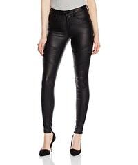 PIECES Damen Hose Pcjust New Coat Legging Rine/black Noos