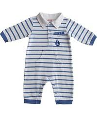 Schnizler Baby - Jungen Schlafstrampler Schlafanzug Interlock Schiff Gestreift