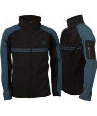 Pánská softshell bunda Sergio Tacchini - modrá/černá