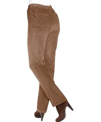 Classic Basics Cord-Hose mit fester Bundpatte vorne für eine flache Bauchpartie