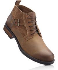 John Baner JEANSWEAR Chaussures à lacets en cuir marron chaussures & accessoires - bonprix