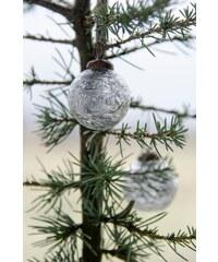 IB LAURSEN Vánoční mini ozdoba Silver pattern