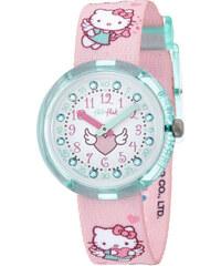 Swatch Dívčí hodinky Hello Kitty Cupido ZFLNP020