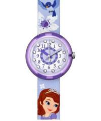 Swatch Dívčí hodinky Disney Sofie The First ZFLNP008