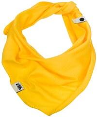 Lamama Dívčí šátek/nákrčník - žlutý