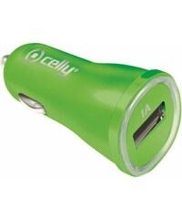 Auto-nabíječka pro iPhone / iPod touch - CELLY, 1A Green - VÝPRODEJ