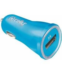 Auto-nabíječka pro iPhone / iPod touch - CELLY, 1A Blue - VÝPRODEJ