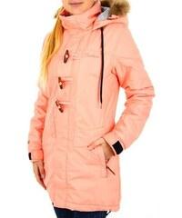 Dámská zimní bunda Funstorm Bretta peach M
