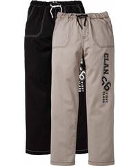 John Baner JEANSWEAR Ležérní chino kalhoty (2 ks v balení) bonprix
