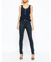 Weekday - Thursday - Jean skinny taille haute - Bleu