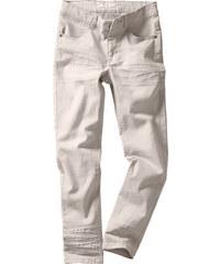 John Baner JEANSWEAR Pantalon Slim Fit avec effets usés, T. 116-170 gris enfant - bonprix