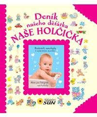 Nakladatelství SUN Deník našeho děťátka - Naše holčička
