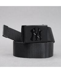 MD MLB Premium Black Woven Belt Single NY černý