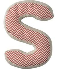 Bloomingville Dětský polštářek Checked ve tvaru písmene S