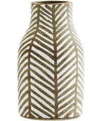 Madam Stoltz Keramická váza Africa White