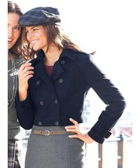 HIRSCH HIRSCH vlněný krátký kabátek, bunda i pro plnoštíhlé ženy