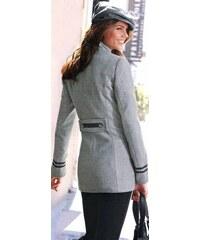 VIVIEN CARON Dámský kabát VIVIEN CARON, dámský kabát šedý