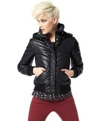 Material Girl MATERIAL GIRL dívčí a dámská prošívaná bunda s kapucí
