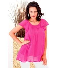 Letní dámská tunika růžová