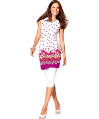 Letní dlouhá tunika - tunikové šaty bez rukávů