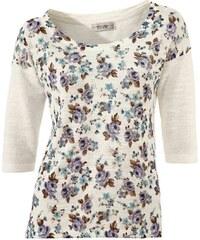 LINEA TESINI LINEA TESINI návrhářský svetr s květinovým potiskem