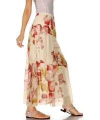 RICK CARDONA RICK CARDONA návrhářská maxi dlouhá sukně, barevná letní sukně