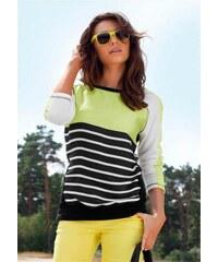Laura Scott Dámský pruhovaný svetr LAURA SCOTT, letní svetr barevný