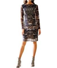 9cbbc0185967 HEINE Best Connections Dámské šaty se zvířecím vzorem a dlouhým rukávem  HEINE Best Connections