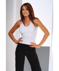 1dce41259a0c Mrs Fitness Tielko fitness Perla biele XL