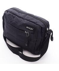 Černá taška přes rameno Diviley Damian černá