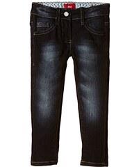 s.Oliver Junior Mädchen Jeanshose 5-Pocket, Einfarbig