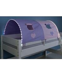 Kinder RELITA LED-Tunnel purple/rosa, Herz